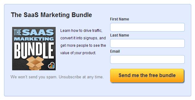 saas marketing bundle
