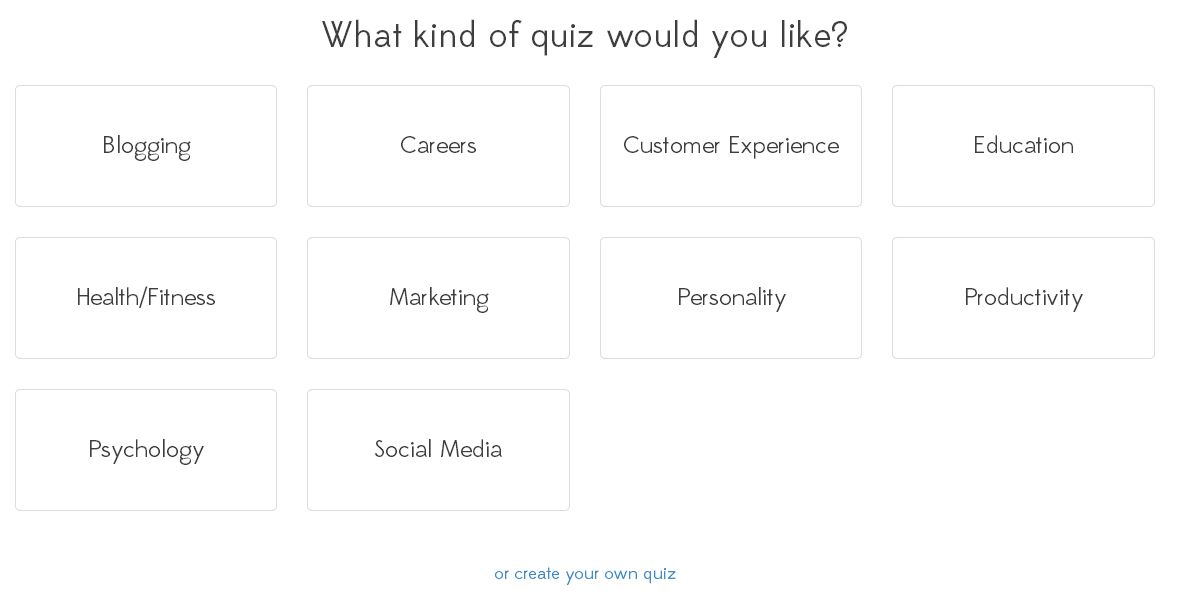 How to make a quiz online in less than 5 minutes Interact – Online Quiz Templates