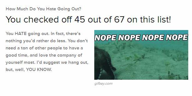 not going