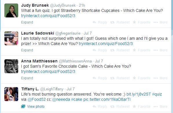 cake tweets