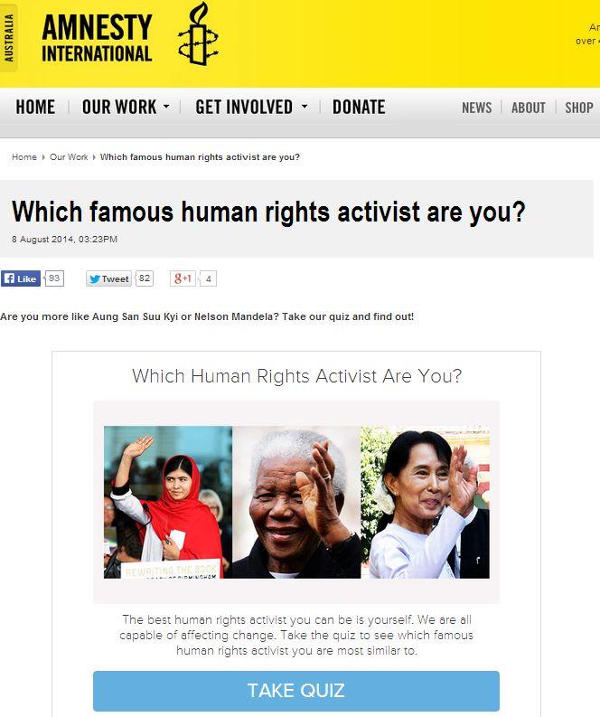 amnesty quiz