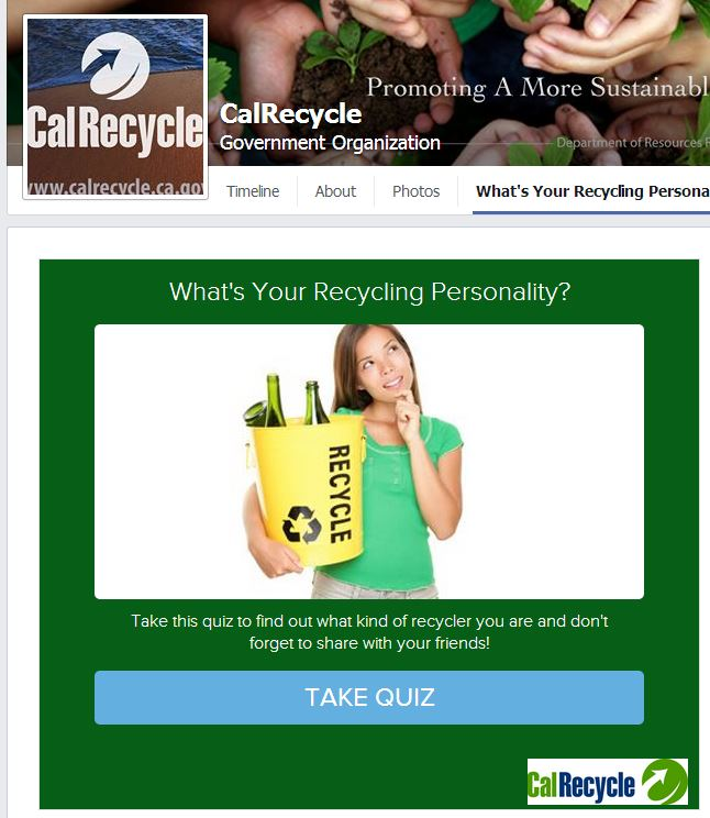 recycling personality