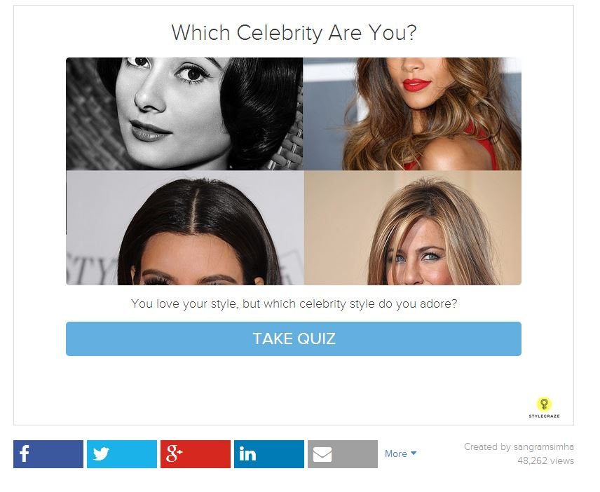 which celebrity