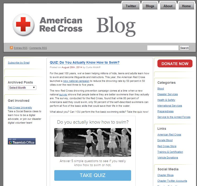 red cross blog
