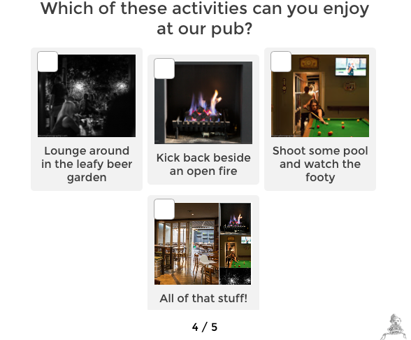 Pub activities