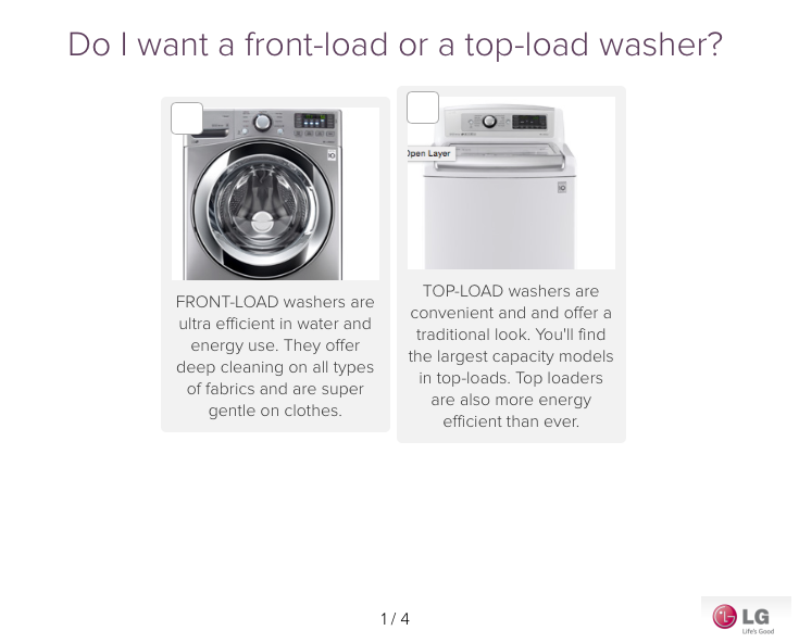 Washer category