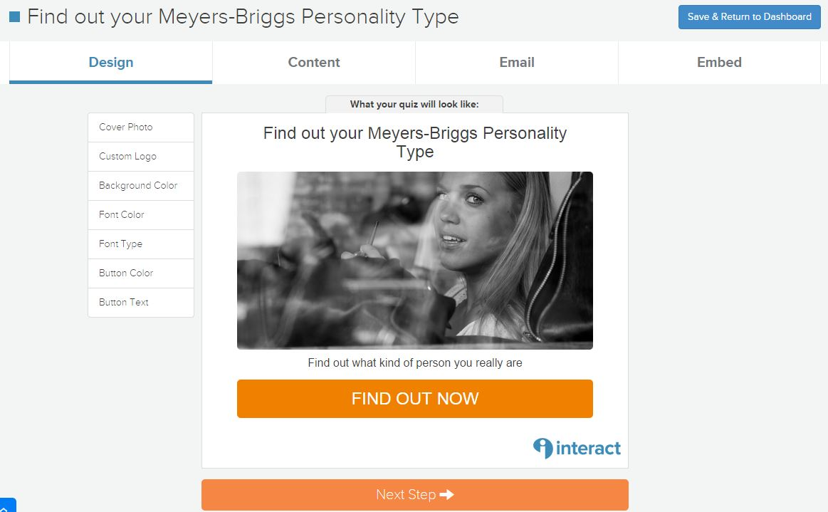 How to make a Myers-Briggs type personality quiz (Plus ready to go ...