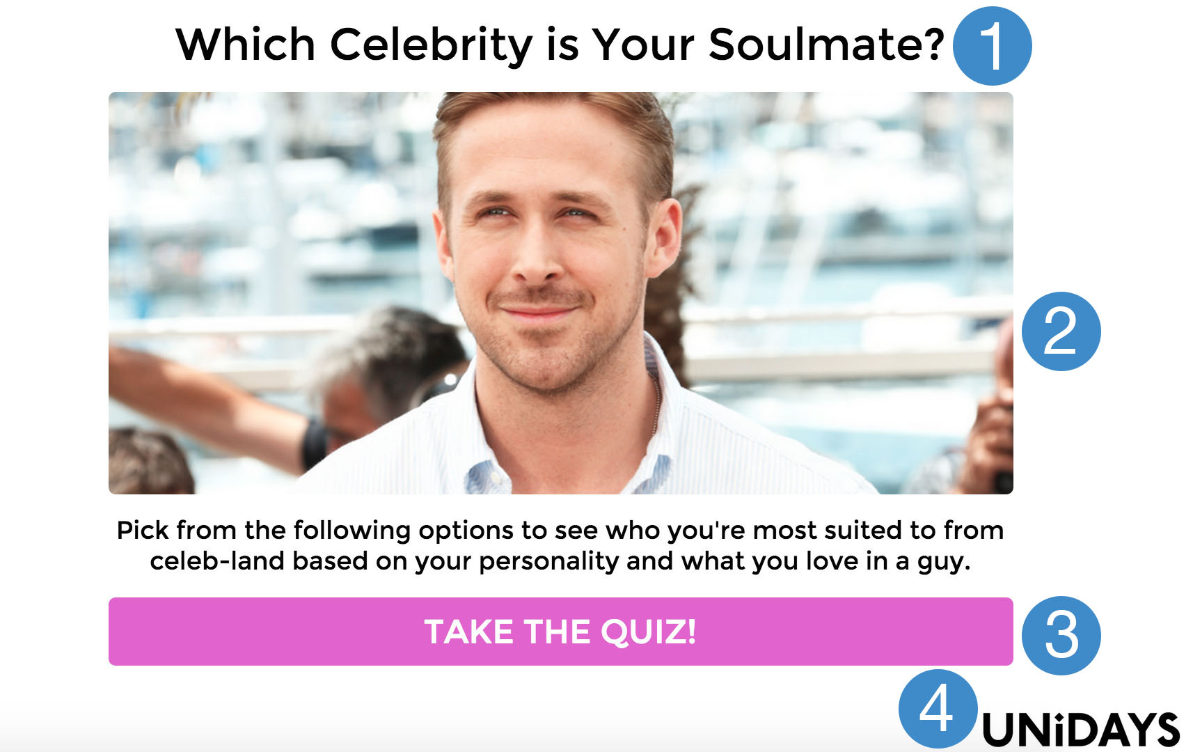 How To Make A Celebrity Personality Quiz Interact