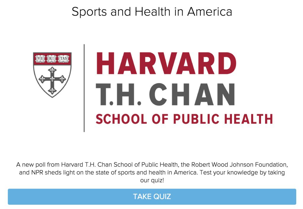 harvard public health quiz