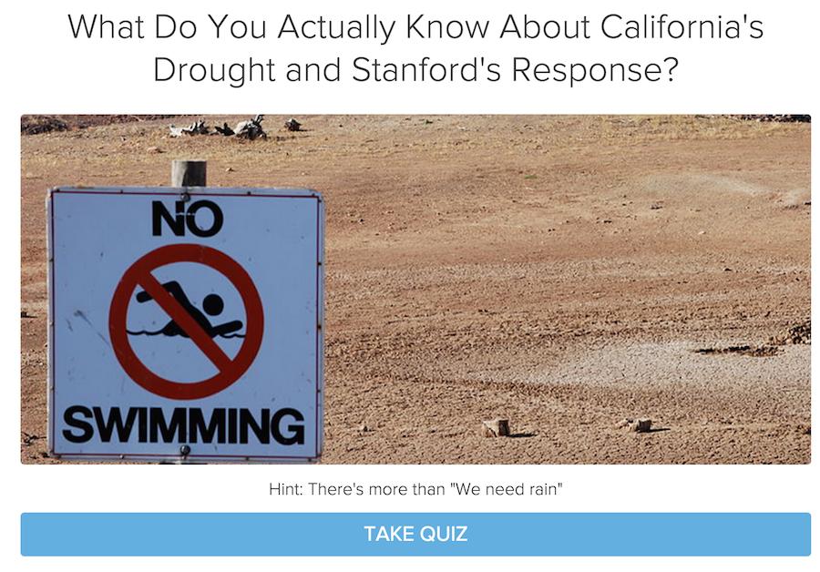 stanford water quiz