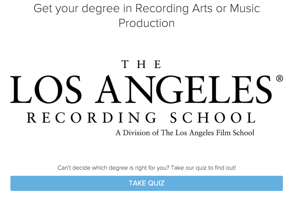 LA film school quiz