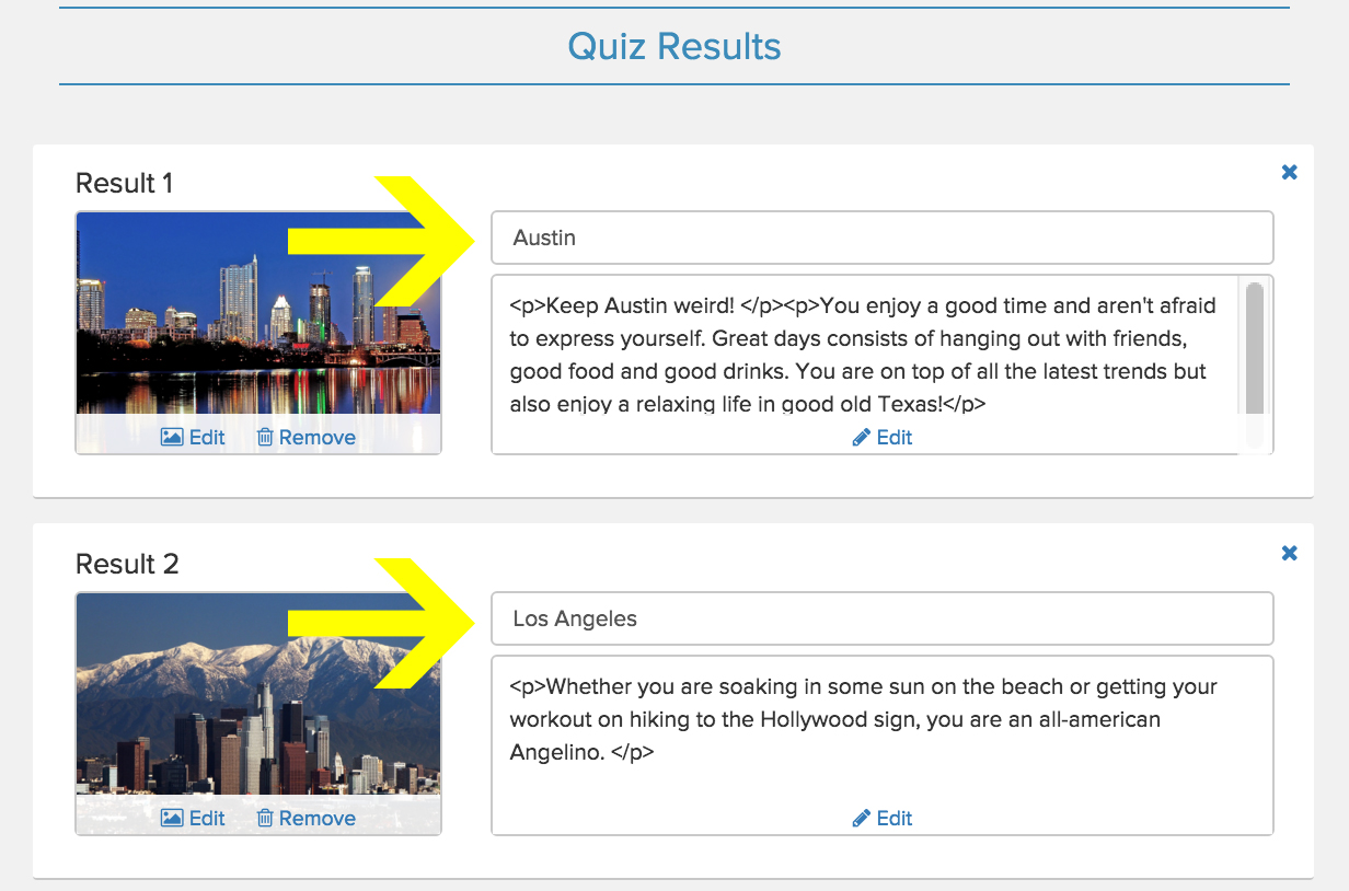 How to Set Up Logic For Personality Quizzes « Interact