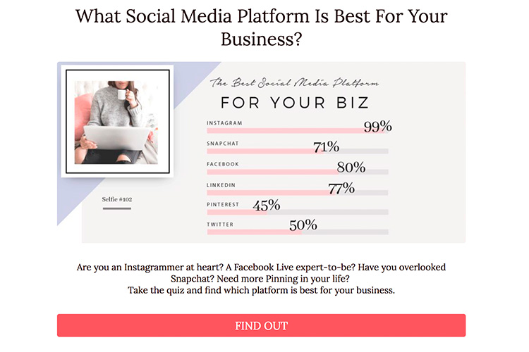 22 Examples of High Converting Quizzes Used for Facebook