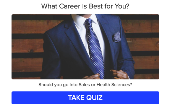 career quiz title