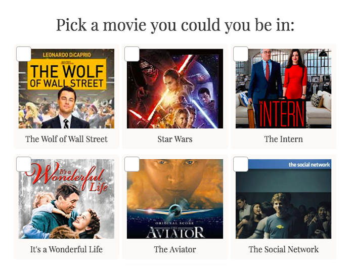 movie you could be in