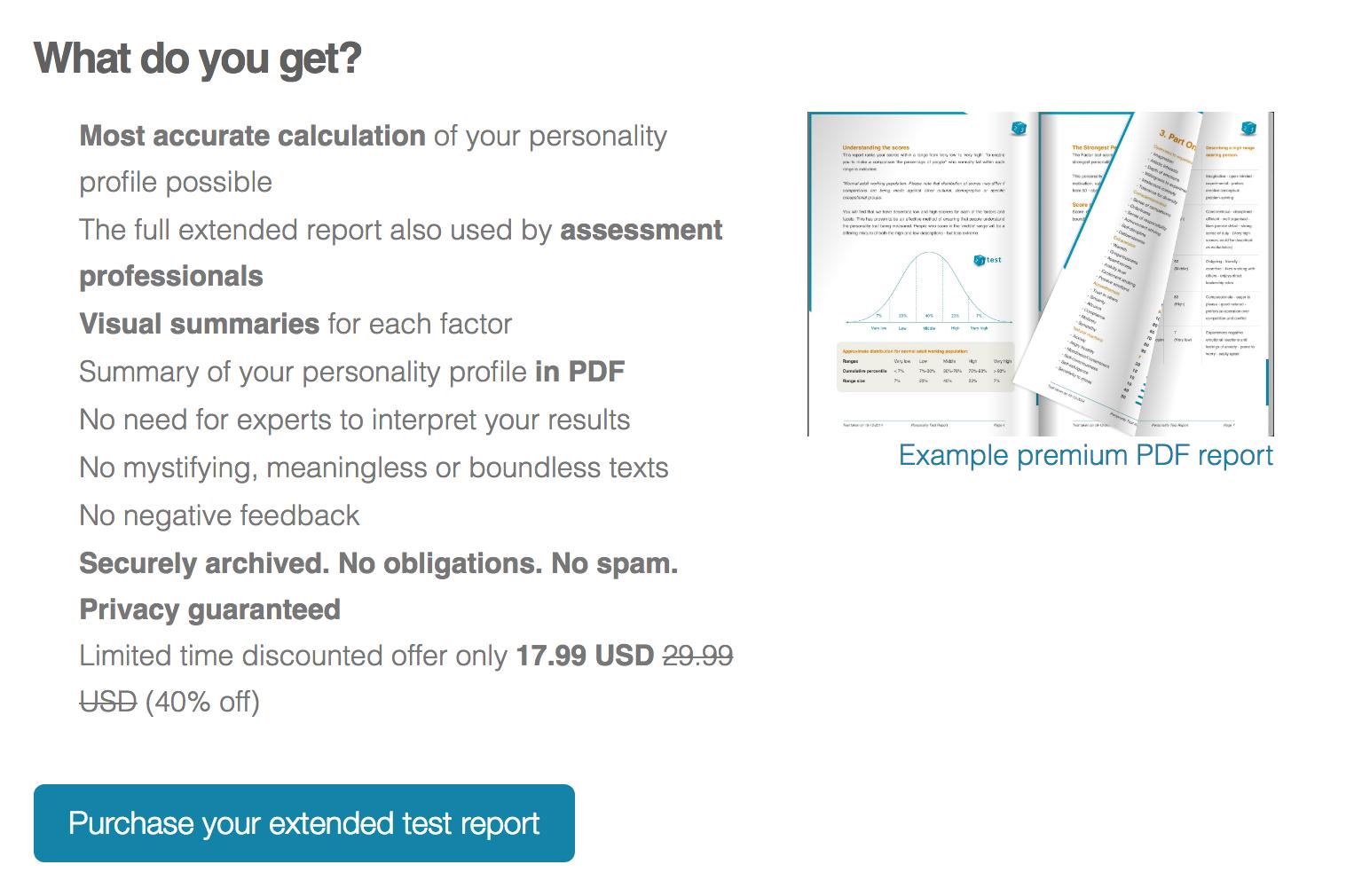 optin offer explaining you can offer full results