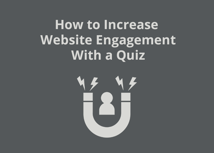 Magnet with person icon inside and How to Increase Website Engagement with a Quiz