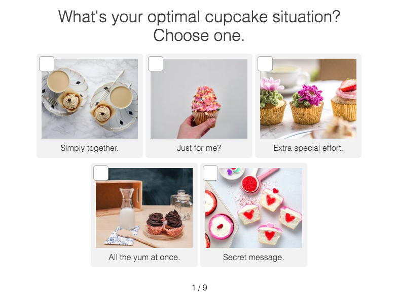 question about perfect cupcake with images