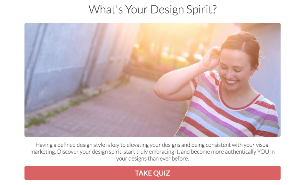 design spirit quiz cover